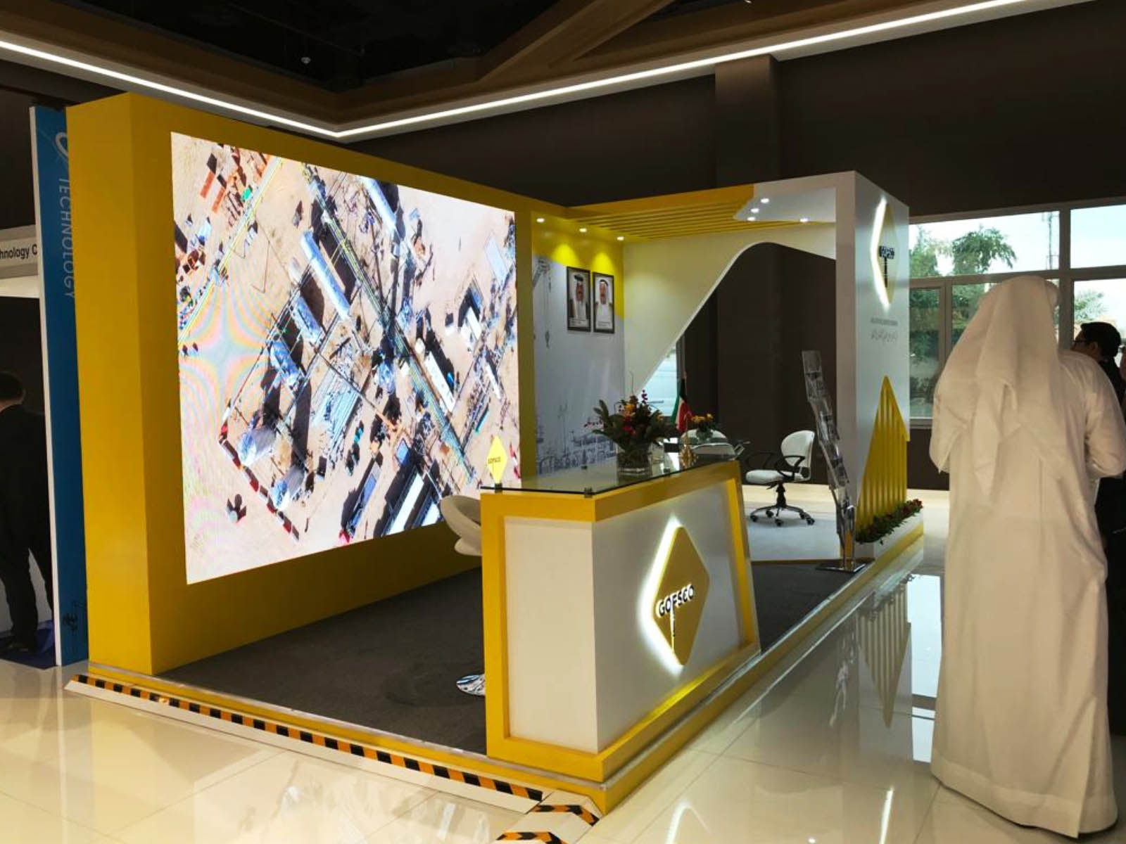 Exhibition Booth Kuwait : Quality exhibition stand production companies